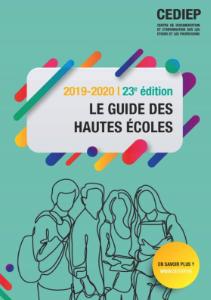 Page de couverture du Guide des Hautes Ecoles 2019