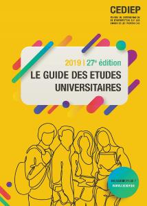 Page de couverture du Guide des Etudes Universitaires 2019